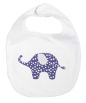Purple elephant_bib