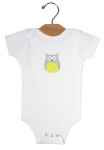 Yellow owl_onesie